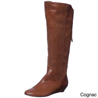 Steven by Steve Madden Womens P Ilana Leather Riding Boots FINAL