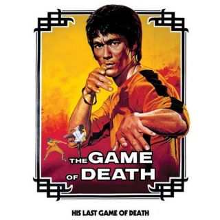 61 x 91 cm   Poster motif Game Of Death White, dimensions env. 61 x 91