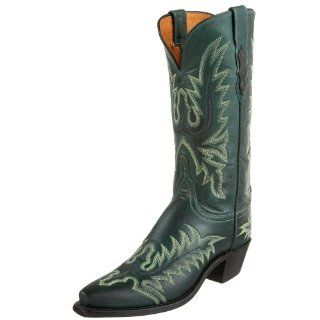 Womens N8670 5/4 Western Boot,Green Burnished Ranch,6 B(M)US Shoes