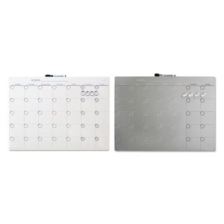 Quartet Magnetic Tin 1 Month Calendar Dry Erase Board