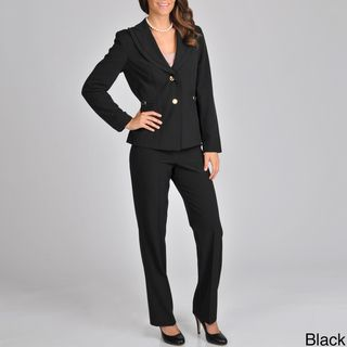 Signature by Larry Levine Womens Pant Suit