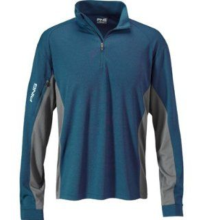 Ping Apparel Mens Big & Tall Color Blocked 1/4 Zip