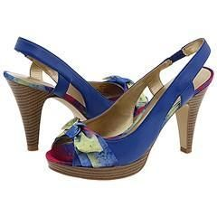 Madden Girl Kileyy Blue Multi Sandals