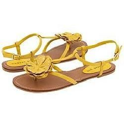 Madden Girl Adaline Yellow Paris Sandals