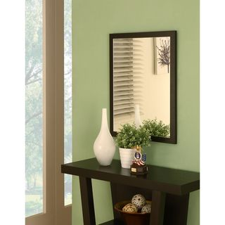 Holme Red Cocoa Wall Mirror