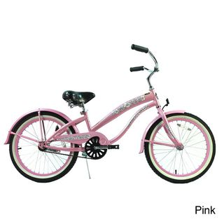 Kalua 20 inch Girls Beach Cruiser Bicycle