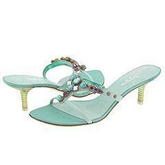 Hype Loverly Seafoam Pumps/Heels