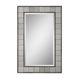 Ren Wil Windsor Antique Bronze Rectangular Mirror