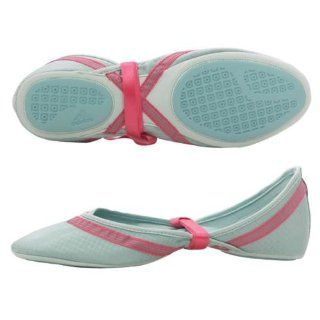 adidas Amyrina Light Blue Womens Ballet Shoes   010398 Shoes