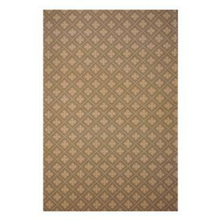 Indo Hand tufted Flat Weave Beige/ Ivory Kilim Rug (56 x 8