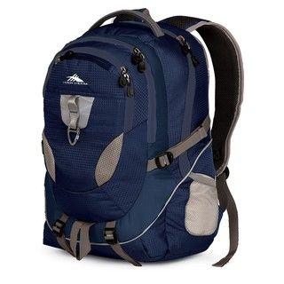 High Sierra Stalwart Blue Velvet Laptop Backpack