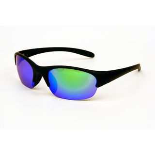Field and Stream Mens Paddle RV 1 Rubberized Black Sunglasses