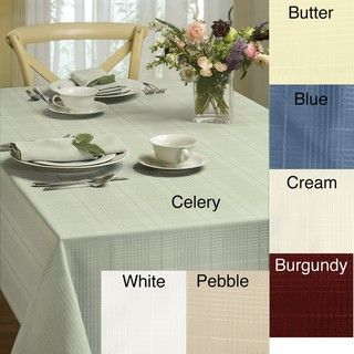 Simplicity 60x84 inch Oval Tablecloth