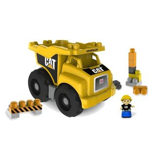 Megan Bloks CAT Large Vehicle Dump Truck