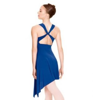 Lyrical Dress Twist Back,N8600 Clothing