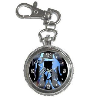 zodiac sign gemini 1 keychain watch key chain watch