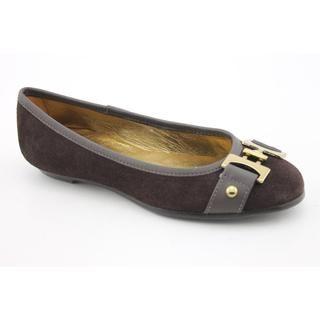 Venettini Girls 49 101647 Regular Suede Dress Shoes (Size 11.5