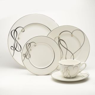 Mikasa Love Story 5 piece Ivory China Place Setting