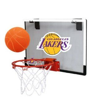 NBA Los Angeles Lakers Game On Indoor Basketball Hoop