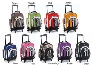 CalPak Awestruck 18 inch Rolling Backpack