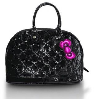 Black Hello Kitty Small Embossed Handbag Clothing