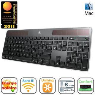 Logitech Solar Keyboard K750 Black for Mac   Achat / Vente CLAVIER