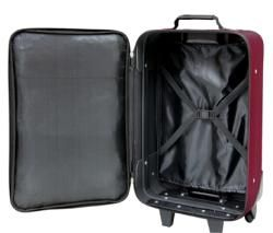 Travelers Club Euro Value II 3 piece Carry on Luggage Set