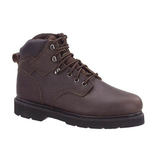 AdTec Mens Oiled Leather Brown Work Boots