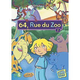 64, rue du Zoo   Vol. 1 en BLU RAY DESSIN ANIME pas cher