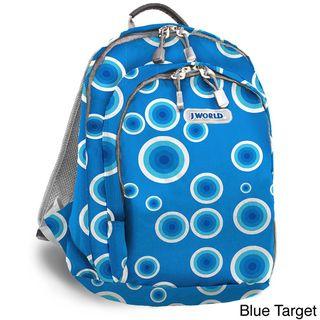 World Rosewalk Blue Target Mini Backpack