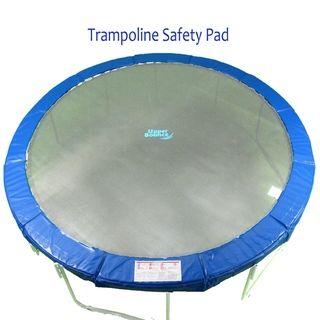 15 foot Round Blue Premium Trampoline Safety Pad