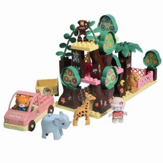Le Safari De Hello Kitty   42 pièces   Achat / Vente JEU ASSEMBLAGE