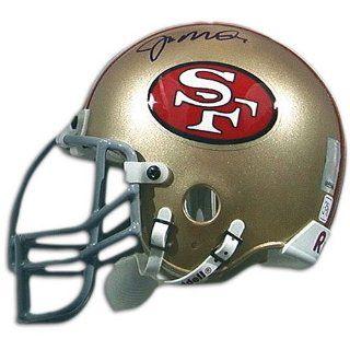 49ers Mounted Memories Autographed Mini Helmet ( Montana