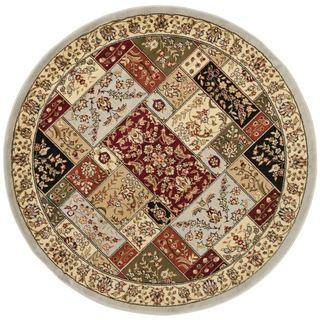 Safavieh Lyndhurst Traditional Grey/ Multi colored Rug (53 Round