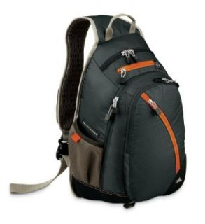 High Sierra Crush Backpack (Graphite/Black/Chipotle