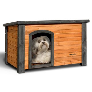 Precision Pet Small Outback Log Cabin Dog House