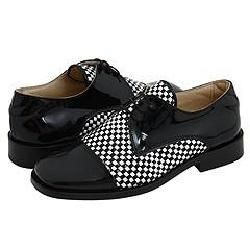 Shoe Be Doo 3730 (Toddler/Youth) Black Patent Oxfords