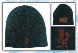 ICP Insane Clown Posse Beanie Hat   Black Reversible