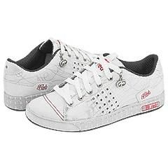 Red by Marc Ecko Lasalle White/Silver/Black Athletic