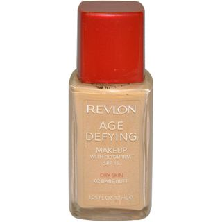 Revlon Age Defying # 02 Bare Buff Makeup SPF 15 with Botafirm for Dry