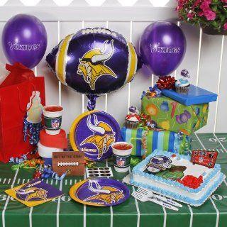 NFL Minnesota Vikings Birthday Party Kit (96 Piece