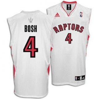 Toronto Raptors Chris Bosh Replica Home Jersey, Size XXXX