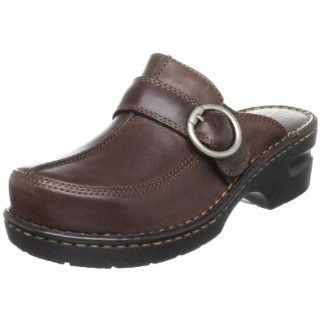 Eastland Womens MS Tickle Clog,Brown,6 M US Shoes