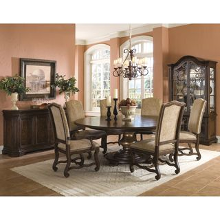 Coronado 9 piece Round Table Dining Set with Arm Chairs