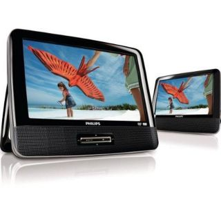 Philips PD9012 9 inch Dual screen Portable DVD Player (Refurbished