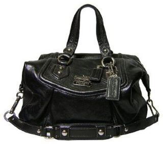 Coach Madison Leather Audrey Satchel Black Shoes
