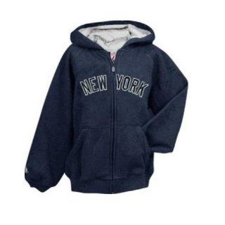 MLB New York Yankees Boys Full Zip Jacket in Team Color