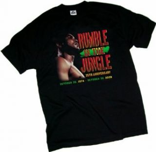 Rumble In The Jungle    Muhammad Ali Adult T Shirt