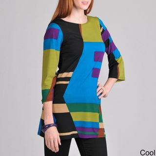 Sunny Leigh Womens Color block Top