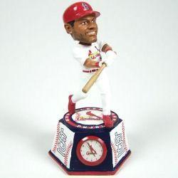St. Louis Cardinals Albert Pujols Bobblehead Clock